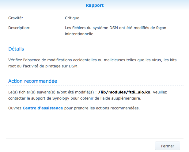 Resolu) Maliciel ftdi_sio.ko   Antivirus Essential   NAS Forum