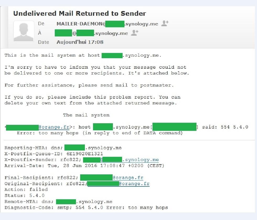 Mail Server & Web Server - Configuration De A - Page 5 - Tutoriels