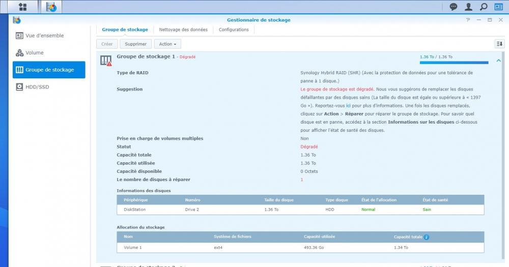 Synology gestionnaire de stockage Groupe de stockage Volume 1.jpg